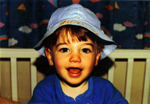 Ben Whitehair Baby Picture with Hat